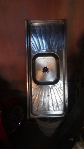 Vendo duas pias de cozinha - Foto 4