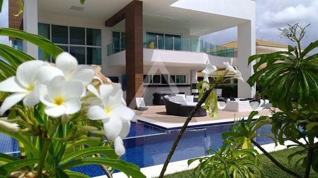 Casa de luxo mobiliada 6 quartos em Guarajuba/Camaçari-BA - Foto 3