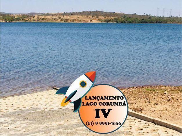 Parcelas de 399 lotes planos / lago / Corumba iv - Foto 3