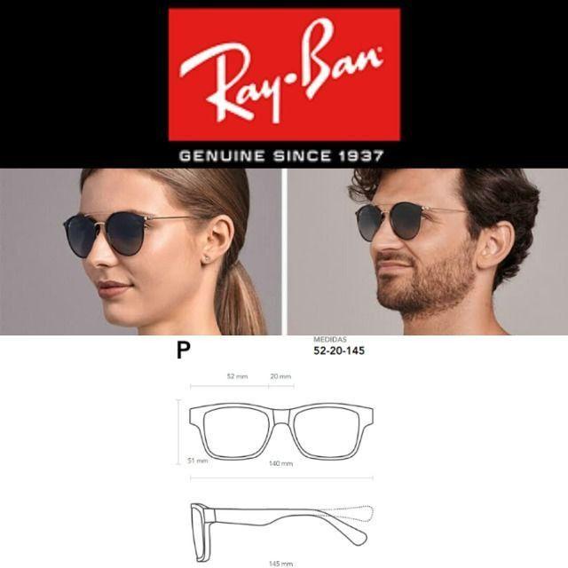 Óculos de Sol Rayban RB 3546 com Proteção UV - Foto 4