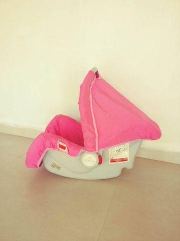 Bebê conforto Galzerano rosa - Foto 2