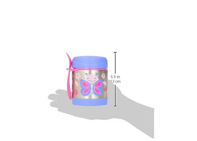 Pote Térmico Skip Hop Baby Zoo Butterfly Borboleta 325ml - Foto 3