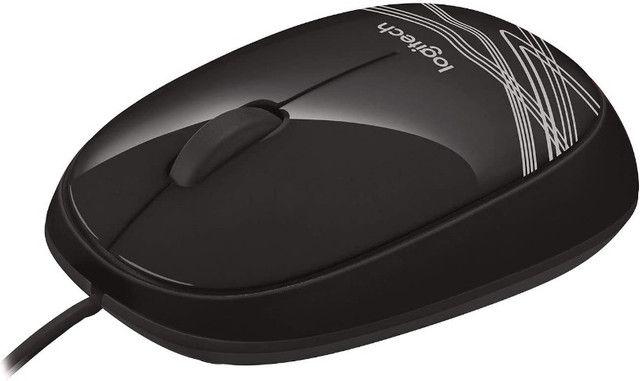 Mouse Logitech M105 USB Preto - 910-002958 - Foto 4