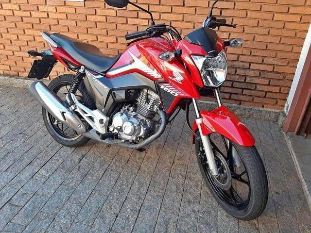 Titan 160cc Vermelha Promoção
