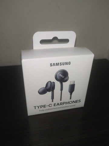 Fone de ouvido Intra Auricular Preto Samsung AKG (12 meses garantia e está lacrado) - Foto 2
