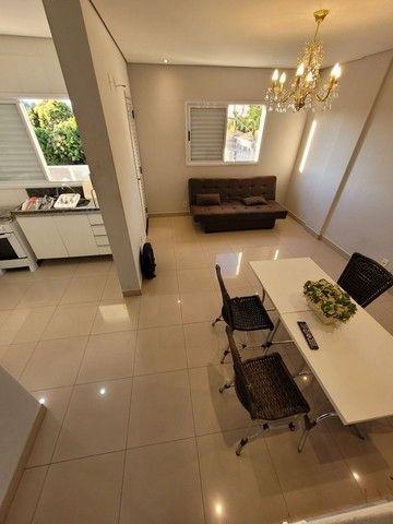 Apartamento mobiliado de TEMPORADA NOVINHO bem localizado em Cuiabá