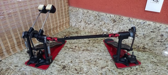 Pedal Duplo de  Bumbo DW 5000 - Foto 2