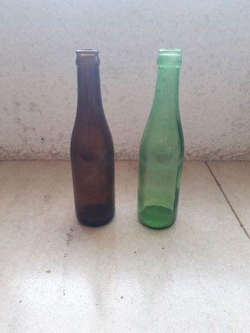 Garrafa lisa ANTARTICA sem rótulos / refrigerante antigo, retrô