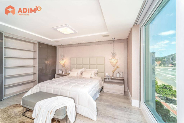 Apartamento frente mar, mobiliado e decorado com 4 suítes e 4 vagas privativas no Metrópol - Foto 20