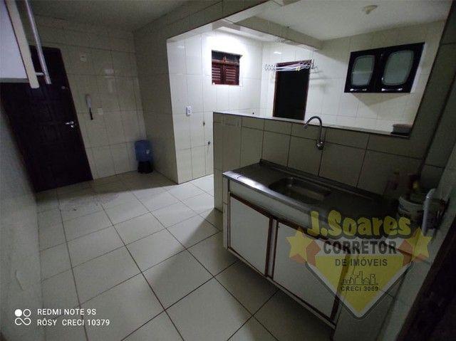 Bessa, 3 quartos, DCE, suíte, 95m², R$ 1.500 C/Cond, Aluguel, Apartamento, João Pessoa - Foto 9