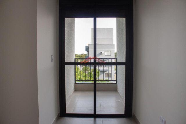 Edifício Vivere - Apto novo, 01 suíte + 02 quartos, 02 garagens, aceita veículo, na Avenid - Foto 12