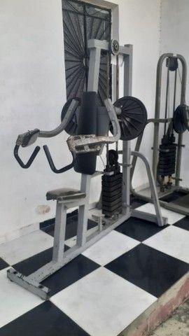 Academia: estação 4 apoio, deltóide e Abdominal vertical - Foto 4