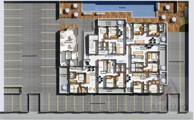 Apartamento com 2 dormitórios à venda, 74 m² por R$ 181.990,00 - Cristo Redentor - João Pe - Foto 8