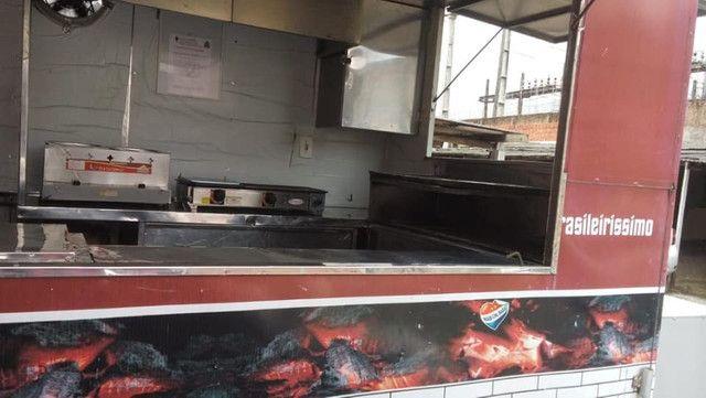 Trailer Food Truck Completo Top 3x2 - Aceito Carro na troca  - Foto 5