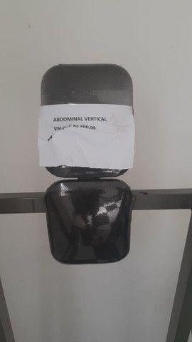 Academia: estação 4 apoio, deltóide e Abdominal vertical - Foto 5