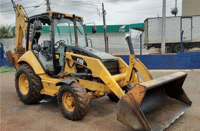 Retroescavadeiras Cat 416E - Foto 3