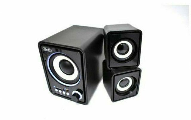 Caixa de Som Bluetooth Para PC Notebook 11W de Potência Soundbar Tv - Foto 5
