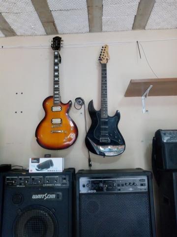Guitarra semi nova (aceito cartão)
