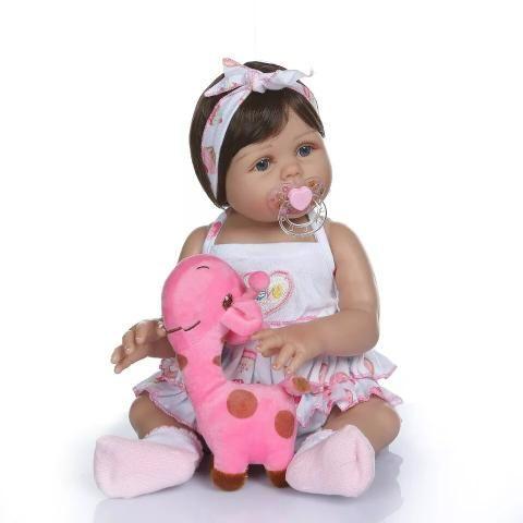Bebê Reborn 100% Silicone + Acessórios + BRINDE - 10x sem juros - Foto 2