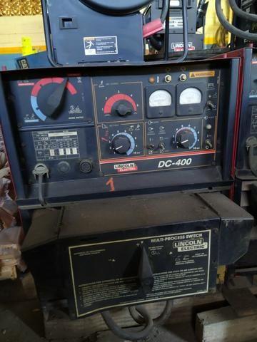 Máquina De Solda Mig Lincoln - Idealarc Dc 400 - Foto 2