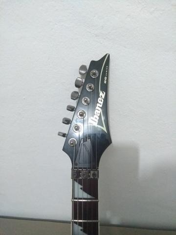 Guitarra ibanez rg350 aceito pedais pedaleira - Foto 5