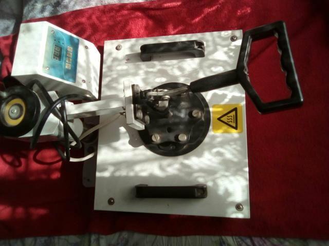 Vendo máquina estampar sublimação + impressora Epson