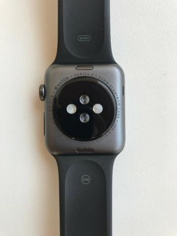 Apple Watch Series 3 42mm GPS + Pulseira De Aço + 2 Películas Skinomi - Foto 3