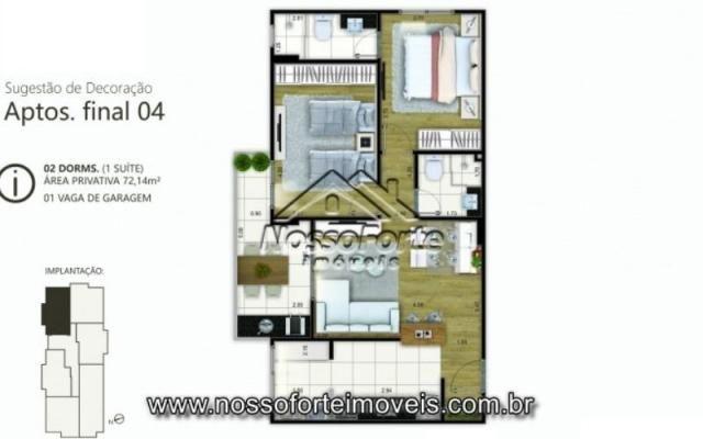 Lançamento Apartamento no Canto do Forte em Praia Grande - Foto 14