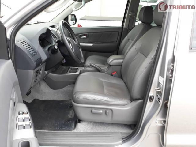Toyota Hilux SRV CD 4x2 Flex /// POR GENTILEZA LEIA TODO O ANÚNCIO - Foto 9