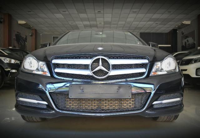 Mercedes Benz C180 1.6 CGI Coupe. Preta 2012/12