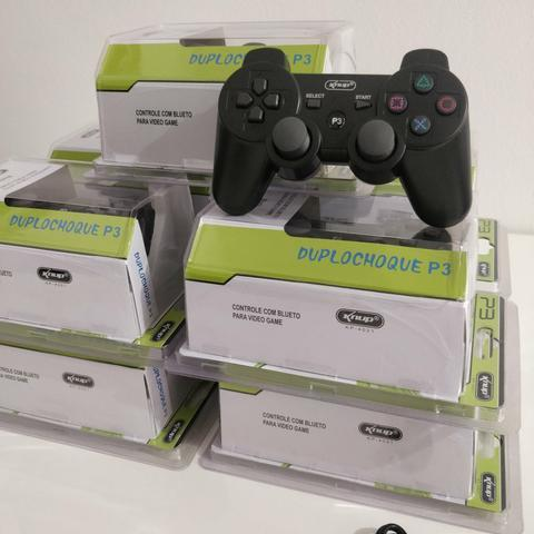 Playstation 3 Joystick sem Fio Original Knup (Loja na Cohab) Adquira Já!!
