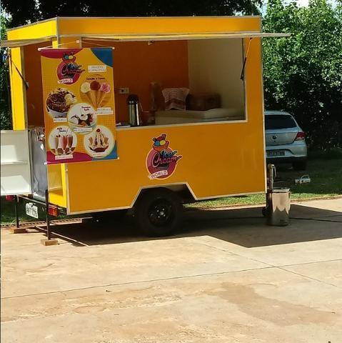 Vendo Food Truck de Sorvetes