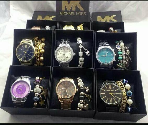 Kit relógio Mk CK - Bijouterias, relógios e acessórios - Ricardo De ... 40ece0b4d7