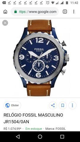 69754b94919 Relógio Masculino Fossil - Bijouterias