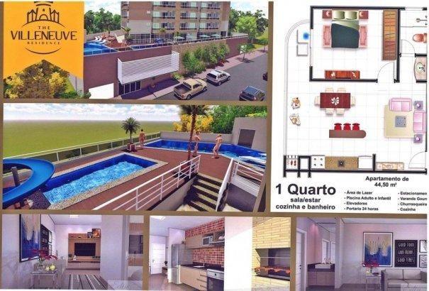 The Villeneuve Apartamento Parcelado ao lado clube Di Roma - Apartamento Alto Pa...