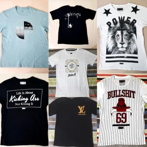 e0ee8b0b11 Camiseta LV M Slim Fit Nova Masculina Feminina - Roupas e calçados ...
