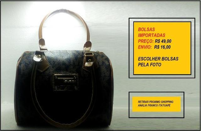 b07bbb84c Kit 4 Bolsas importadas genéricas Ver fotos Ponta Estoque - Bolsas ...