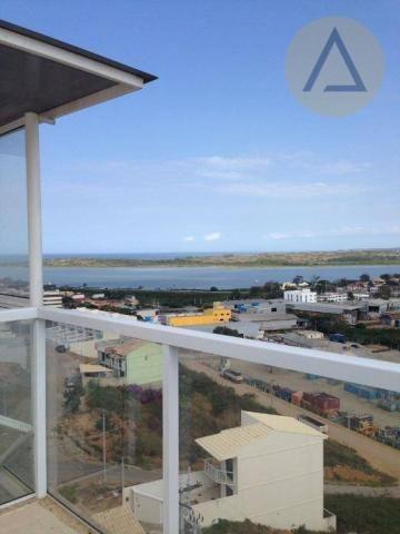 Cobertura com 2 dormitórios à venda, 122 m² por r$ 370.000 - lagoa - macaé/rj - Foto 8