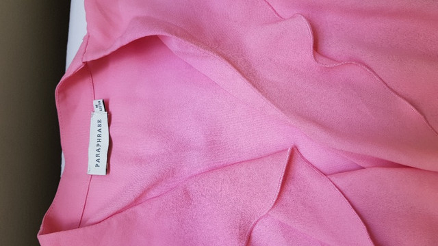 Combo Blusa rosa,calca preta e sandalia - Foto 2