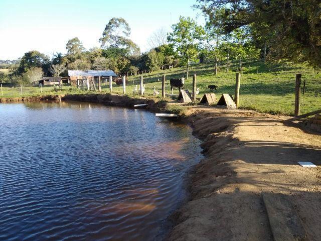 Velleda oferece sítio 3 hectares, 3 dormitórios, horta irrigada, 2 piscinas, açude