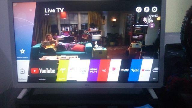 Smart TV LG super nova 32 polegada wi-fi Netflix YouTube