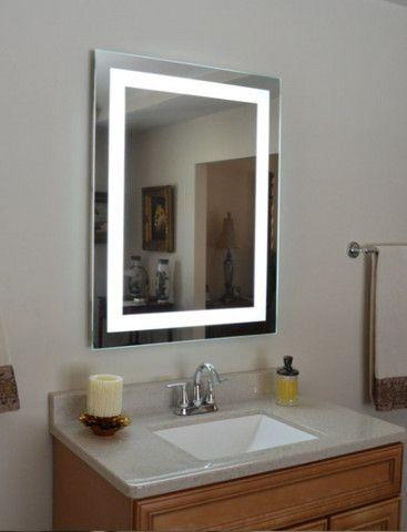 Espelho Retangular Led com Iluminação - 0,80cm x 0,60cm - Foto 2