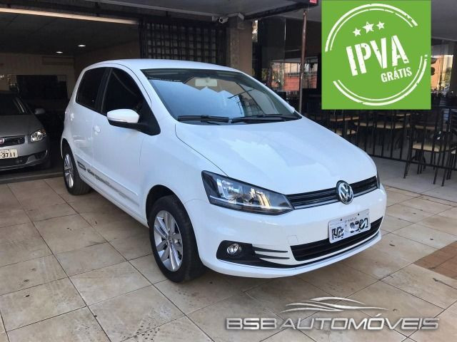 Vw - Volkswagen Fox 1.6 Connect MSI Ipva 2020 Pago!!! Garantia de Fabrica Menor Km do BR