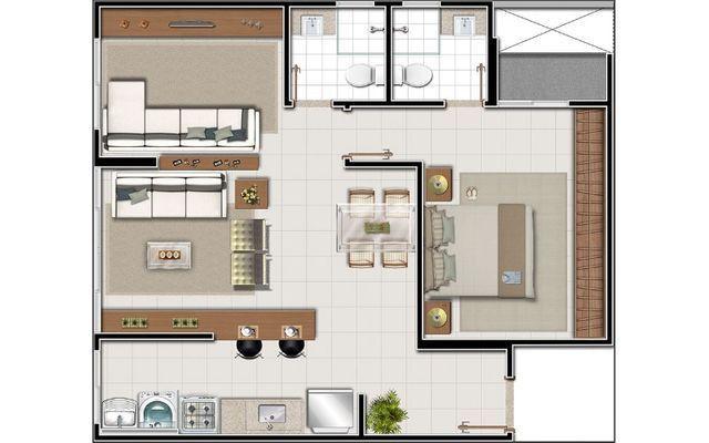 Apartamento de 2 quartos/suíte - Vila Rosa - Spazio di Lorenzzo - Foto 16
