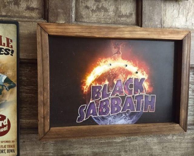Quadro LED Black Sabbath - Foto 2