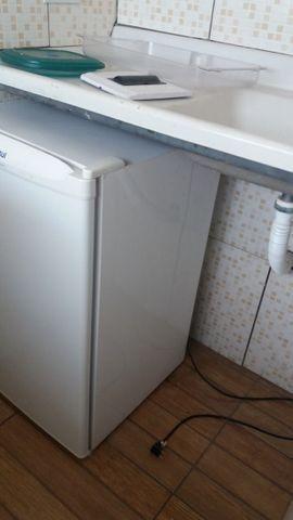 Apartamento de 1 quarto, mobiliado com despesas inclusas e a 8 mim do Metrô - Foto 2