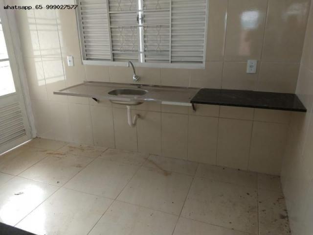 Casa para Venda em Várzea Grande, Novo Mundo, 2 dormitórios, 1 banheiro, 2 vagas - Foto 5