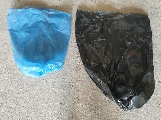Sacos de Lixo 50L / 100L / Preto e Azul - Foto 5