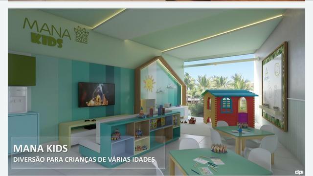 Mana Beach Experience lançamento 1 e 2 quartos na Praia de Muro Alto na frente do Oka - Foto 7