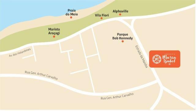 34 Maria Isabel 2 - Casas com 2 quartos 64m2 na região do Araçagi! - Foto 9